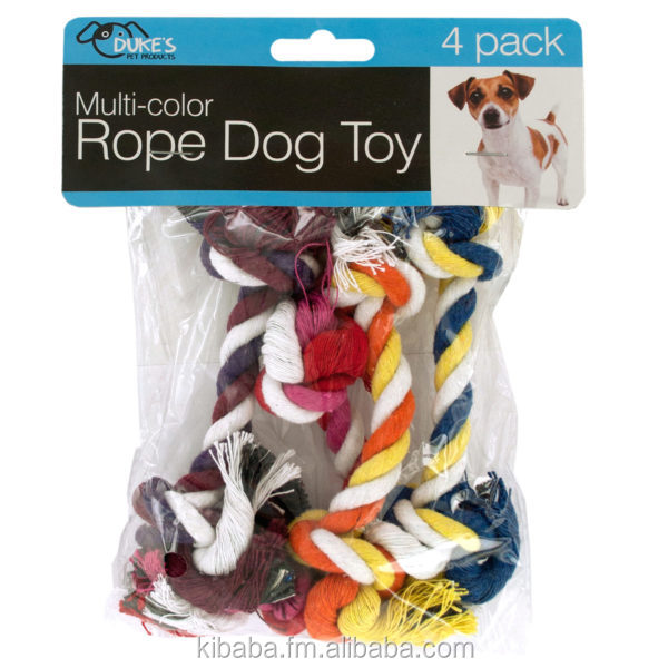 Multi-Color Rope Dog Toy Set