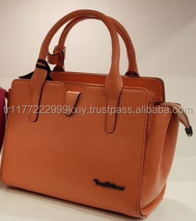 Genuine Calf Leather Cheap New Season Colorful Handbags for Women Istanbul Turkey