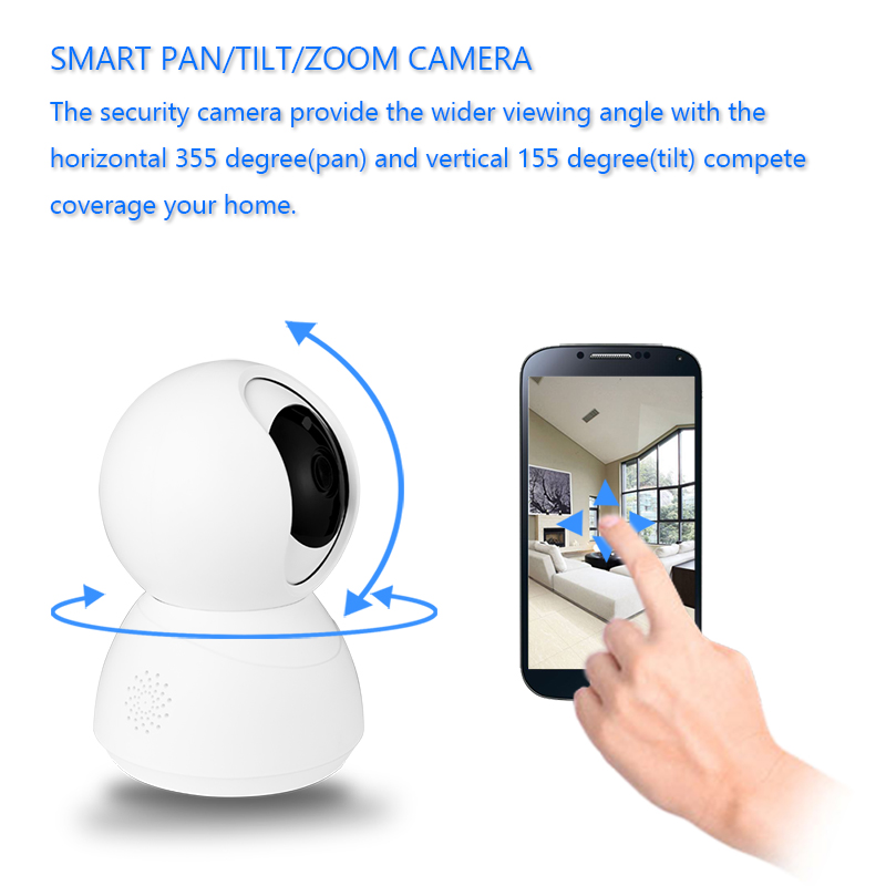 New arrival Tuya wireless video baby monitor with night vision camera