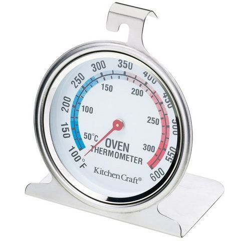 Stainless Steel Baking Oven Cooker Thermometer Temperature Gauge 300C, 600F 786