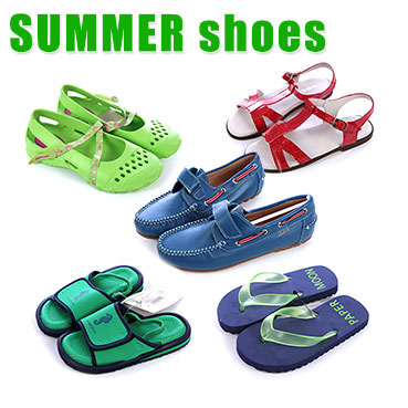Kids summer shoes MIX