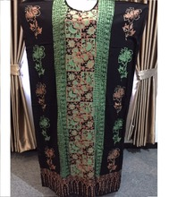 High Quality Batik Fabric Women Night Gown Indonesian Apparel