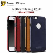 Wholesale Business Style Luxury Case PU Leather Soft Case Mikki Back Cover For iPhone 7Plus 8Plus