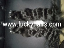 Wholesale Price Unprocessed 7a 100% Indian Remy Raw Indian Virgin Human Hair weave Straight wavy Raw Virgin Malaysian Hair