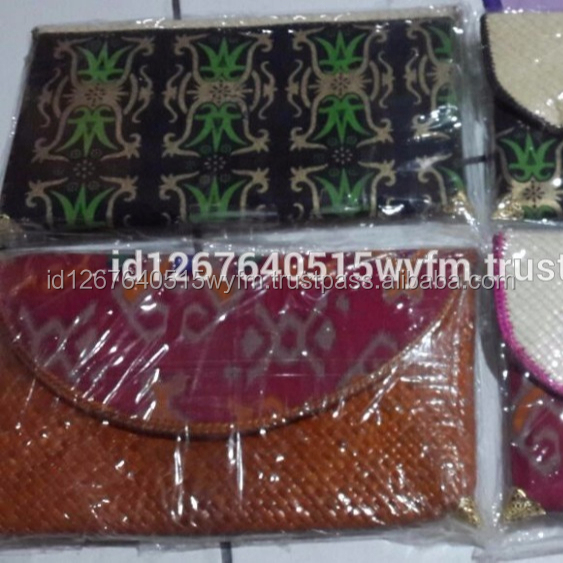 High Quality Batik Fabric Clutch from Kalimantan