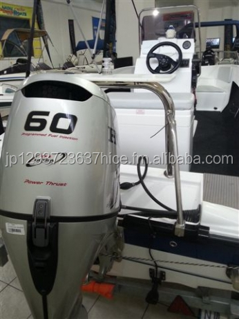 Used Honda 60HP 4 Stroke Outboard Motor Engine