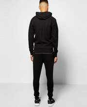 Blank tracksuit wholesale gym tracksuit sweat suits for mens fitness suit fitted