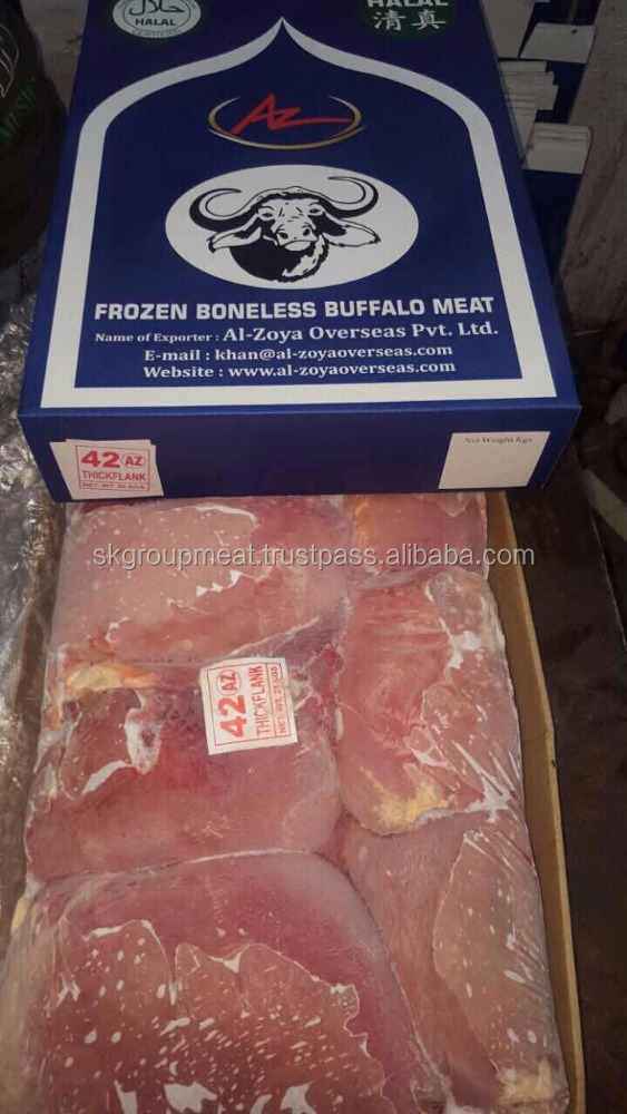Indian Frozen Hind Quarter Buffalo Meat