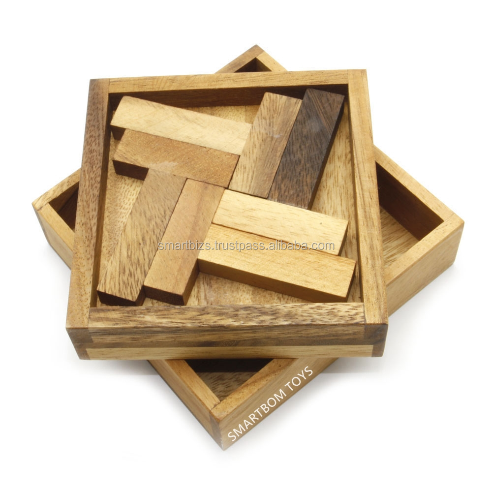 4T Wooden Puzzles Wooden Board Game