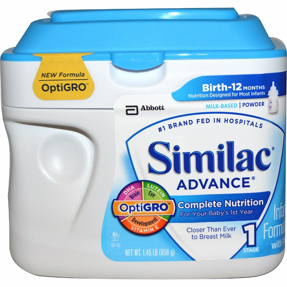 Similac Advance Opti Gro Infant Formula Powder