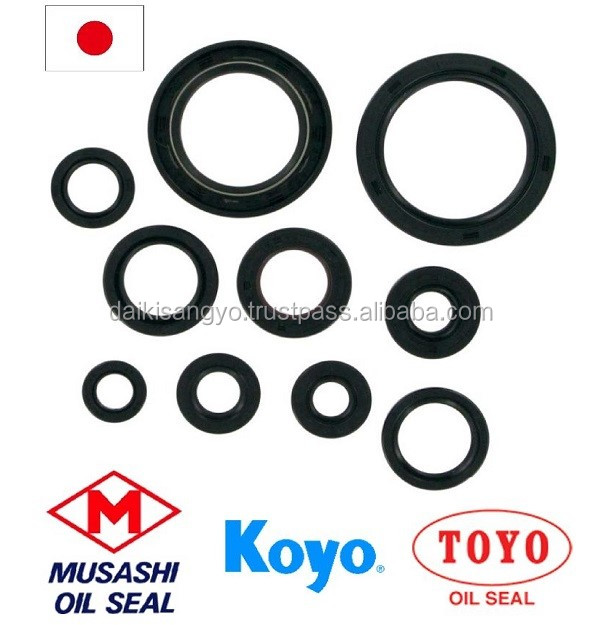 Japanese silicone o ring Oil Seals at reasonable prices