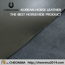 Best quality luxury korean horse leather bag,shoes,wallet soft horse skin cordovang horse leather
