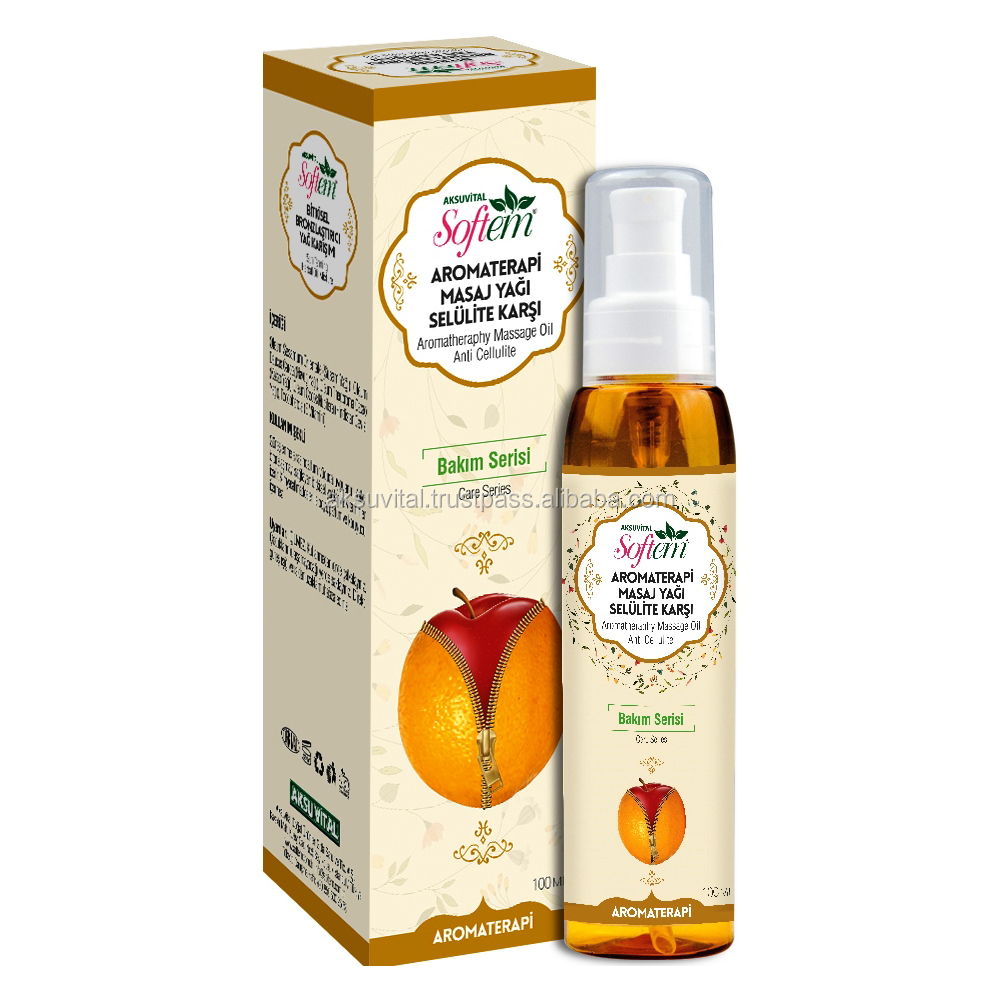 Private Label Vegan Cosmetics Anti Cellulite Oil ...