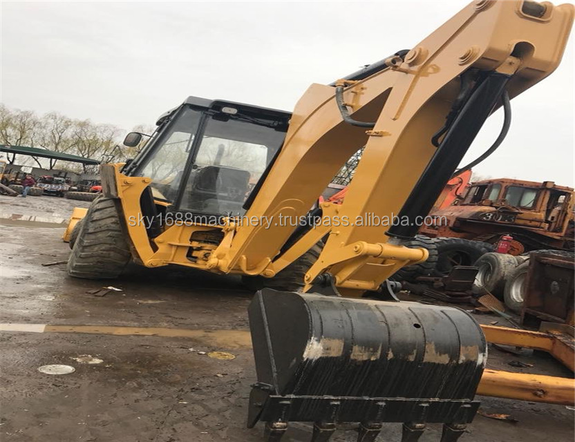 Used CAT backhoe 422F / cheap used backhoe loader