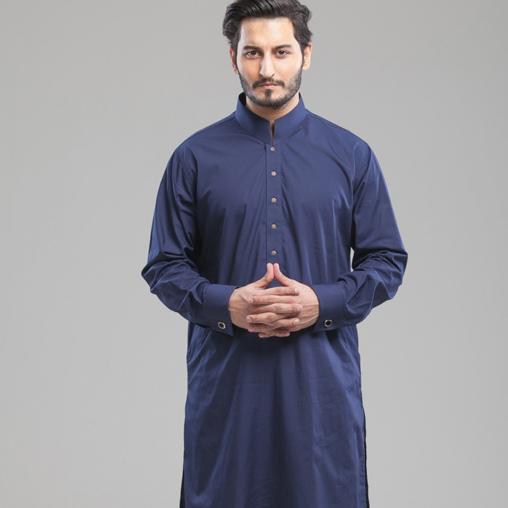 Men's Casual Kurta Salwar Kameez Shalwar Wholesale 100% Cotton Suit Mens Wear Eastern Clothing