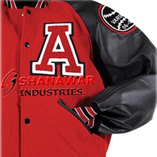 100% polyester college or varsity jacket/ custom sublimated jackets wholesale