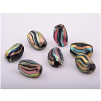 Beads India 1700031 Lampwork Handcrafted Glass Beads/Discounts Above 500 pcs