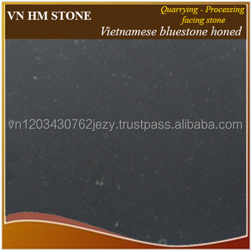 Vietnamese Honed Bluestones Decorative Outdoor Garden Stone Tile