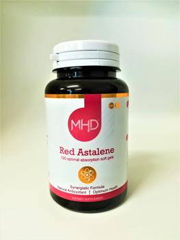 MHD: Red Astalene - Natural Antioxidant 120 Softgel Capsules