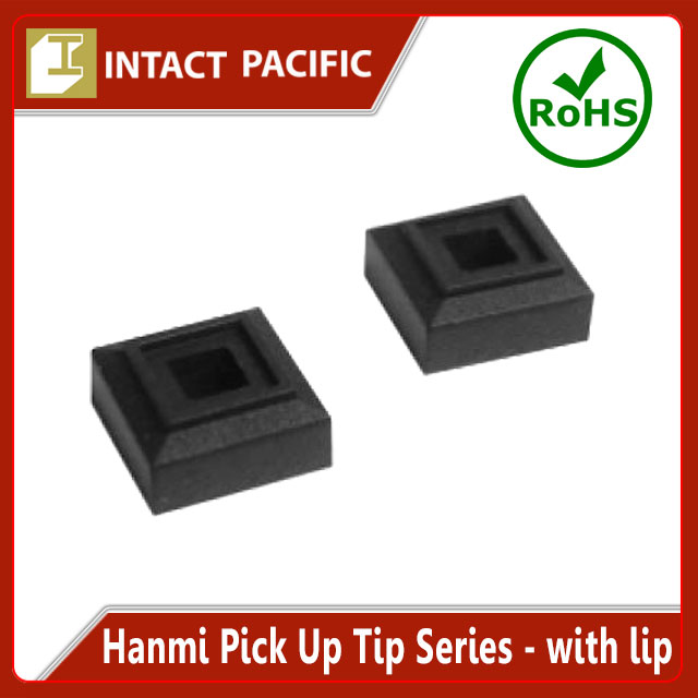 Hanmi Pick Up Tip Series - With lip High quality for Expert use in Semiconductor Production Black Silicone / NBR Rubber