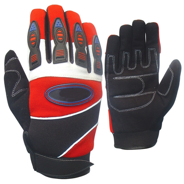 Very fashionable wholesale black, Red bicycle cycling gloves motorbike gloves motor cross off road gloves