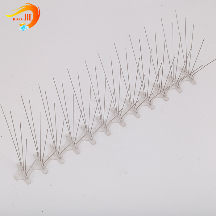 eco-friendly reusable anti bird spikes on roof tops product