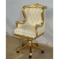 Executive Chair Wooden Office Chair with Storage Office Furniture President Chair Secretary Chair