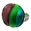 Murano glass Adjustable Ring Bijoux Assorted Colors--------------------------MADE IN ITALY