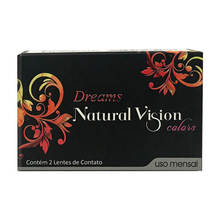 Colored Contact Lenses Natural Vision Dreams Monthly