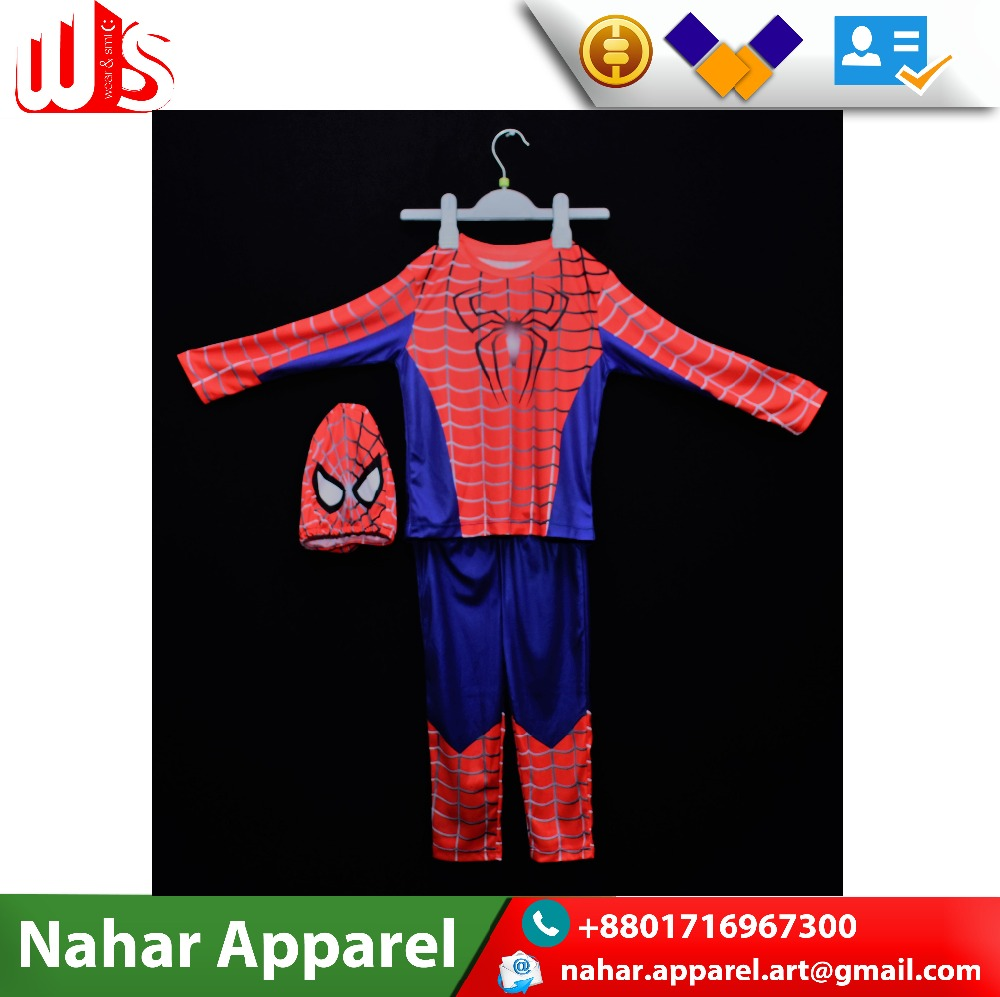 Latest Spiderman Boys Costume Suit