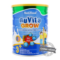 Nuvita Grow Milk powder for children made in Vietnam