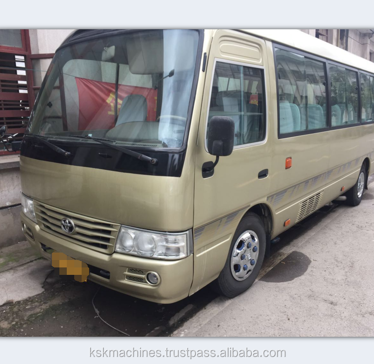 Hot sale toyota coaster bus 30 seats diesel engine