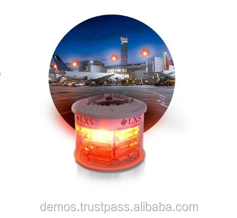 Medium Intensity LED Aviation Obstruction Light for High Structures, Type A/B or AB L864-865, aircraft warning lights