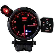 80mm Pilihan Optimal Led Back light Analog Mobil diesel tachometer RPM Meter