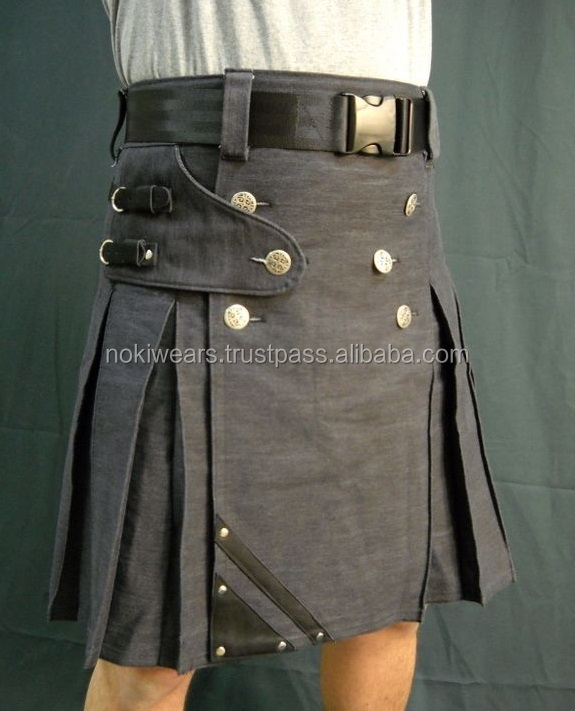modern working casual prime utility kilts/ scottish utility kilts / At Noki