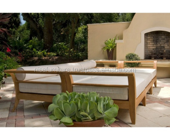 Teak wood Daybed Sofa set outdoor daybed designs