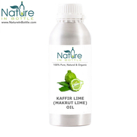 Organic Kaffir Lime Oil | Makrut Lime Oil | Citrus hystrix - 100% Pure and Natural Essential Oils - Wholesale Bulk Price