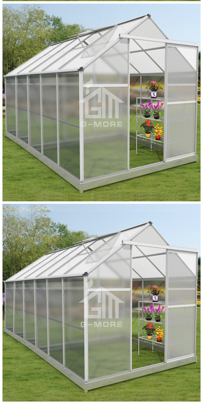 12' x 6' Promotional Hobby Garden Greenhouse