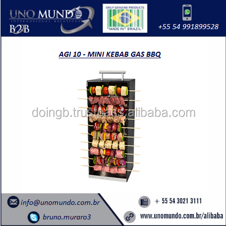 BBQ/Kebab Gas Carbon Steel AGI10 Arke for Sale