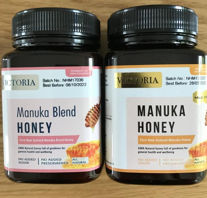 Premium Quality 100% Pure Natural Manuka Honey 500g in Jar Made in New Zealand