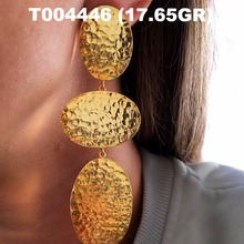 Wholesale Authentic Turkish Handmade Gold-Plated 925 Sterling Silver Earrings Jewelry