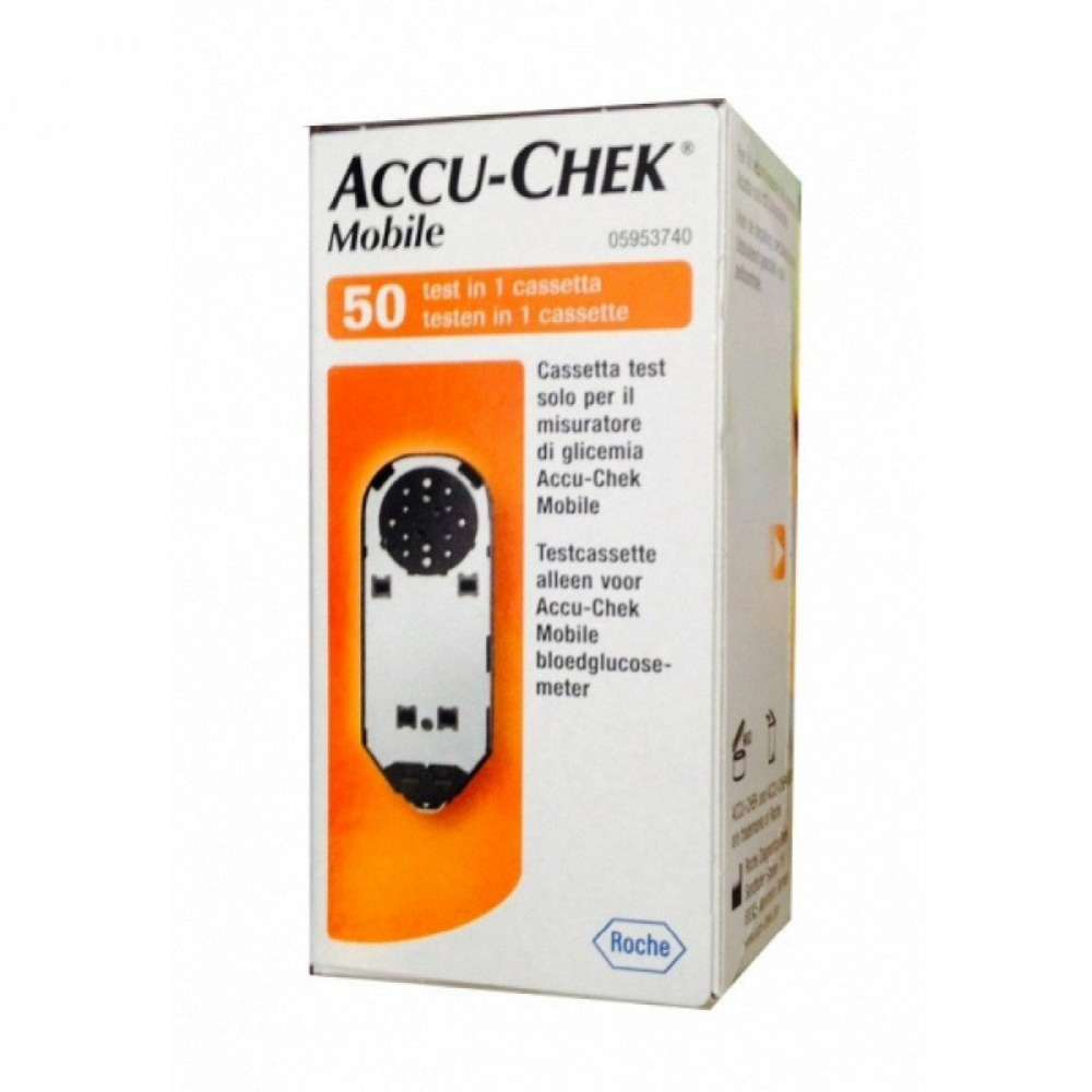 Accu-Chek Mobile Test Cassette 50 Test Strips