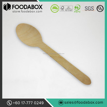 Quality Disposable Wooden Spoon - 6""