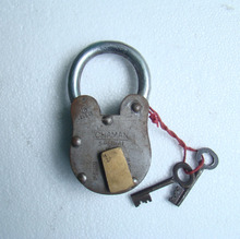 Hand Made Antique Pirate Pad Lock