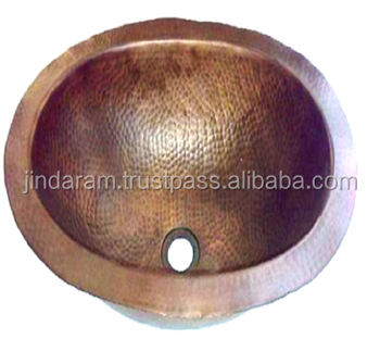 Singlewall Copper Wash Basin