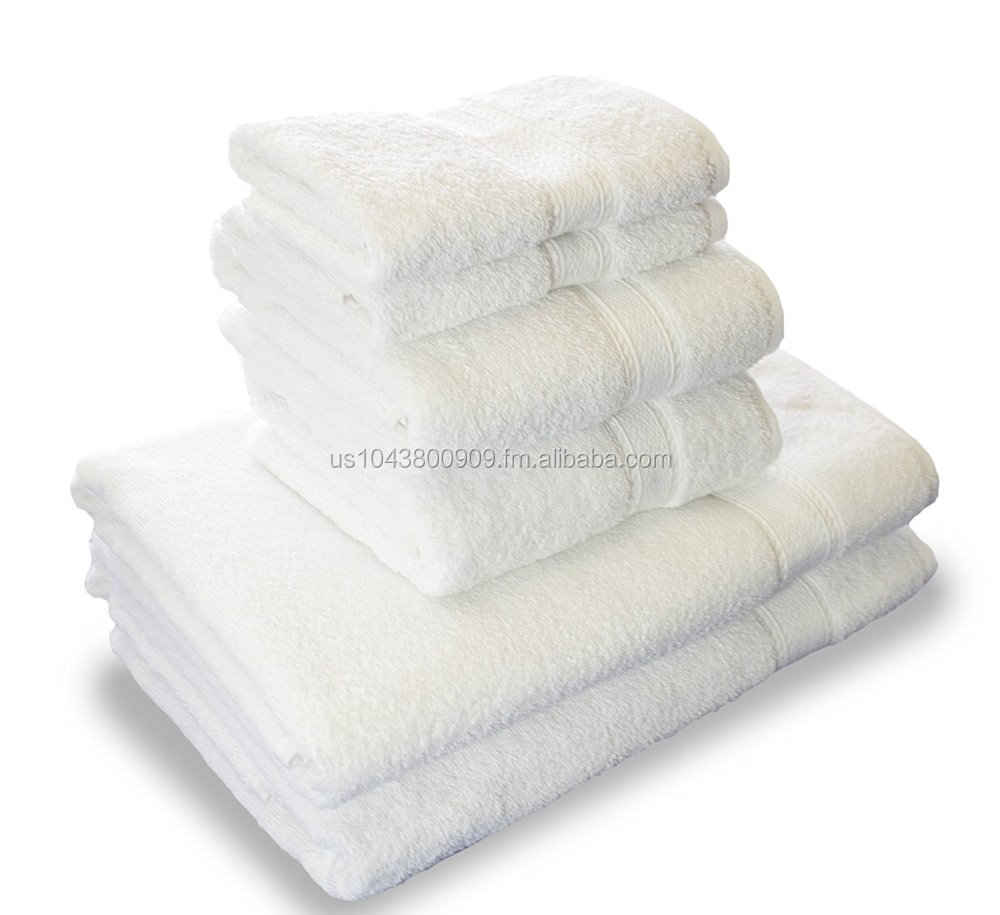 Hotel & Spa Towels set of 6-piece Cotton bath towels