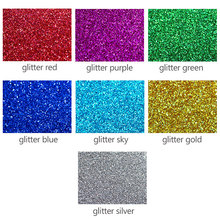 Adhesive glitter felt roll nonwoven fabric 0.8mm