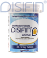 Disifin Animal Surface Disinfectant Tablets Tub/25