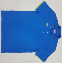Cheap Cotton Mans short Sleeve Polo Shirt Original Branded Surplus Bangladesh