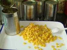 Fresh canned sweet corn canned yellow corn canned corn